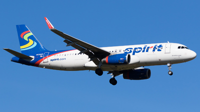 N638NK - Airbus A320-232 - Spirit Airlines