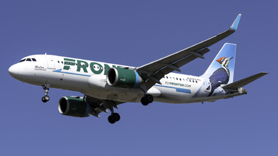 A picture of N309FR - Airbus A320251N - Frontier Airlines - © Kerrigan_Aviation_NJ