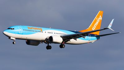 A picture of GTAWV - Boeing 7378K5 - TUI fly - © Florencio Martin Melian