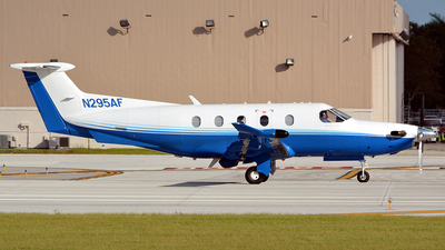 A picture of N295AF - Pilatus PC12/47E - PlaneSense - © Jay Selman - airlinersgallery.com