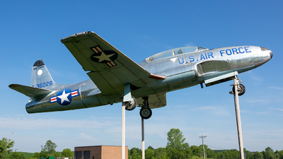 53-6026 - Lockheed T-33A Shooting Star - United States - US Air Force (USAF)