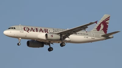 A7-ADE - Airbus A320-232 - Qatar Airways