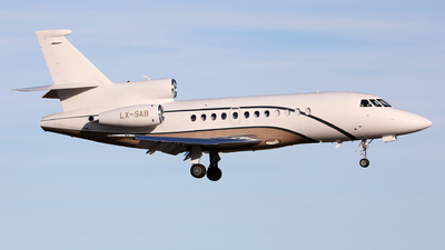 LX-SAB - Dassault Falcon 900DX - Global Jet Luxembourg