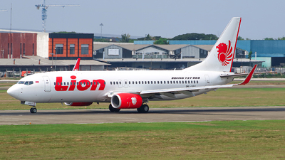 PK-LPU - Boeing 737-8GP - Lion Air