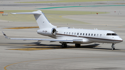 VP-CGM - Bombardier BD-700-1A11 Global 5000 - Private