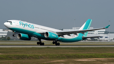 9M-AZL - Airbus A330-243 - Flynas (Eaglexpress Air)