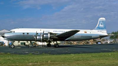 HK-1706 - Douglas DC-6B(F) - Lineas Aéreas Del Caribe