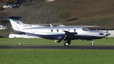 HB-FRA - Pilatus PC-12/47E - Private
