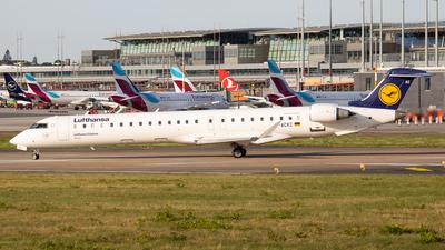 A picture of DACKC - Mitsubishi CRJ900LR - Lufthansa - © Dominik Steciuk