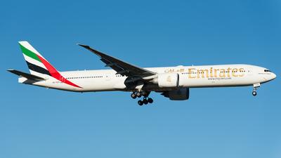 A picture of A6EGH - Boeing 77731H(ER) - Emirates - © Steve Worner