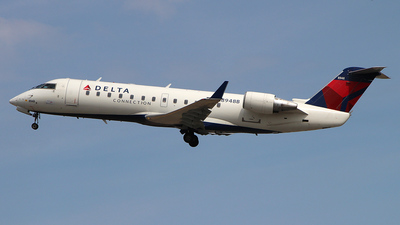 N8948B - Bombardier CRJ-440 - Delta Connection (Pinnacle Airlines)
