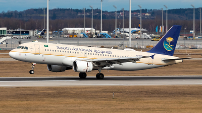 A picture of HZASE - Airbus A320214 - Saudia - © Julian Azeroth