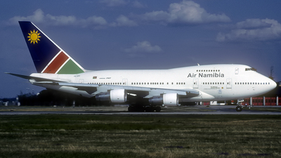 ZS-SPC - Boeing 747SP-44 - Air Namibia