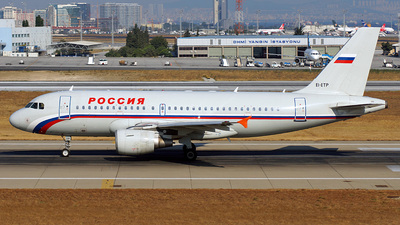 EI-ETP - Airbus A319-112 - Rossiya Airlines