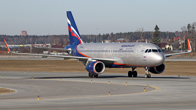 A picture of VPBFG - Airbus A320214 - Aeroflot - © Airyura