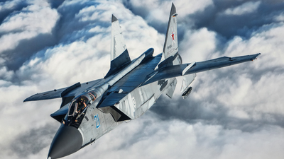 RF-92474 - Mikoyan-Gurevich MiG-31 Foxhound - Russia - Air Force