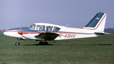 G-ASHV - Piper PA-23-250 Aztec B - Private