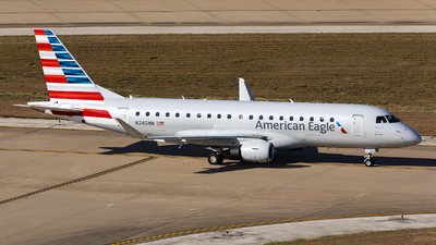 A picture of N245NN - Embraer E175LR - American Airlines - © Sweet Potato