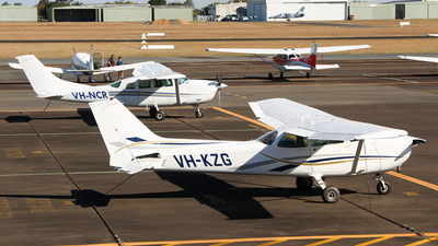 VH-KZG - Cessna 172N Skyhawk II - Aero Club - Royal Queensland