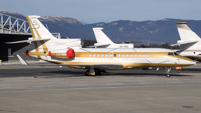 LX-AMB - Dassault Falcon 7X - Global Jet Luxembourg