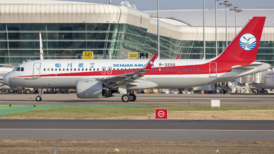 A picture of B325G - Airbus A320271N - Sichuan Airlines - © Eric Wang