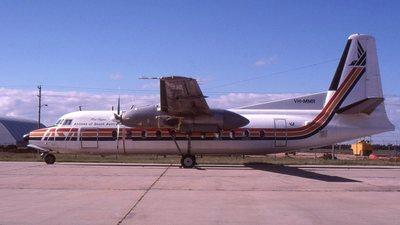 VH-MMR - Fokker F27-200 Friendship - Airlines of South Australia