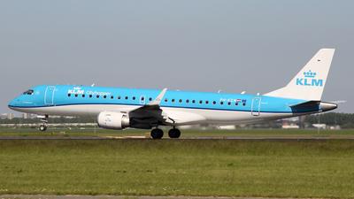 A picture of PHEZN - Embraer E190STD - KLM - © Günter Reichwein