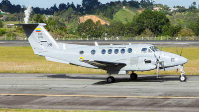 FAC5750 - Beechcraft 300 Super King Air - Colombia - Air Force