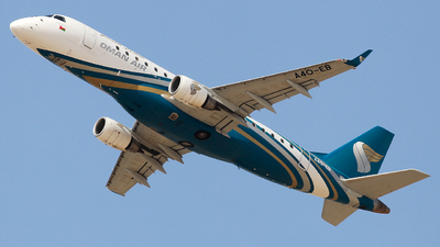 A picture of A4OEB - Embraer E175AR - Oman Air - © Oleksiy Naumov