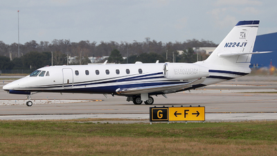 A picture of N224JV - Cessna 680 Citation Sovereign - [6800541] - © Eric Page Lu