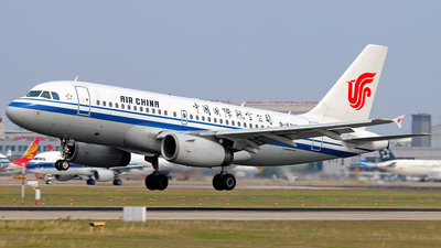 B-6213 - Airbus A319-132 - Air China