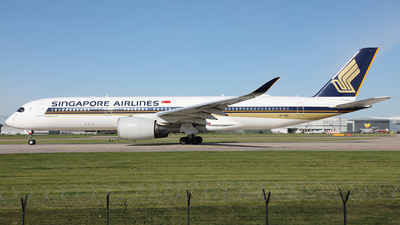 9V-SMS - Airbus A350-941 - Singapore Airlines
