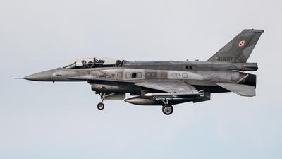 4080 - Lockheed Martin F-16D Fighting Falcon - Poland - Air Force
