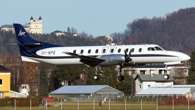 A picture of OYNPE - Fairchild Swearingen Metroliner - North Flying - © Hugo Schwarzer