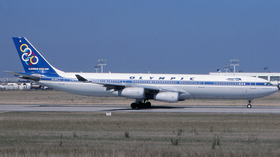 SX-DFA - Airbus A340-313X - Olympic Airways