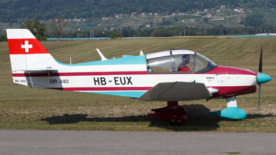 HB-EUX - Robin DR340 - Private