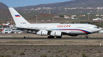 RA-96020 - Ilyushin IL-96-300PU - Rossiya - Special Flight Squadron