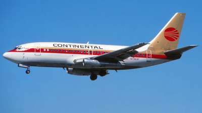 N7363F - Boeing 737-247 - Continental Airlines