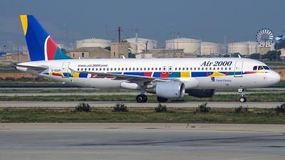 G-OOAR - Airbus A320-214 - Air 2000