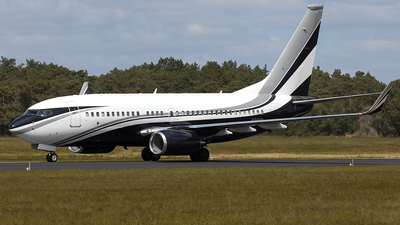 N301SR - Boeing 737-7JV(BBJ) - Private