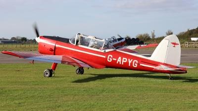 G-APYG - De Havilland Canada DHC-1 Chipmunk - Private