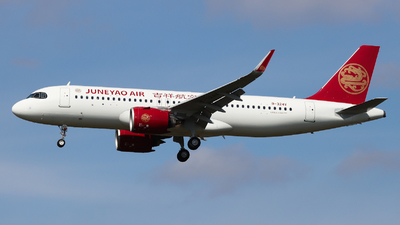 B-324V - Airbus A320-271N - Juneyao Airlines