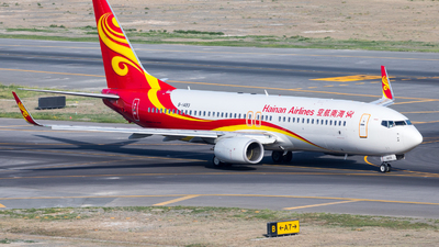 A picture of B1493 - Boeing 73786N - Hainan Airlines - © UNNAMED