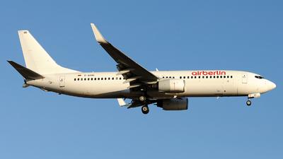 D-ABBD - Boeing 737-86J - Air Berlin