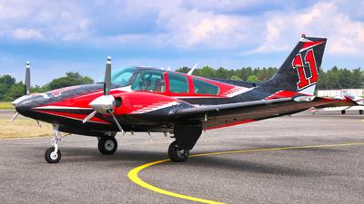 F-HMKM - Beechcraft 95-B55 Baron - Private