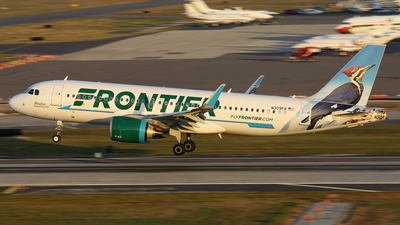 N309FR - Airbus A320-251N - Frontier Airlines