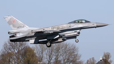 4054 - Lockheed Martin F-16CJ Fighting Falcon - Poland - Air Force