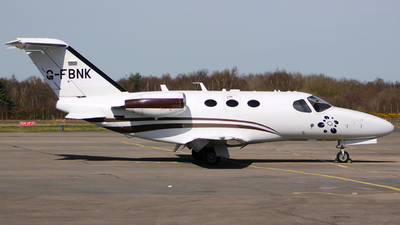 G-FBNK - Cessna 510 Citation Mustang - Blink