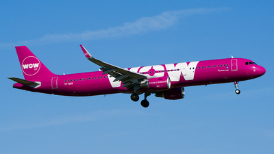 TF-DOG - Airbus A321-211 - WOW Air