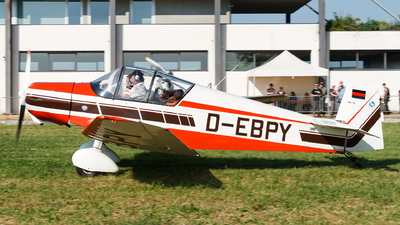 D-EBPY - Jodel D120 Paris-Nice - Private